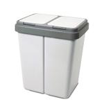 mülleimer 2 kammern Alpfa Müllbehälter 2 x 30 Liter Duo