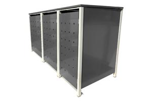 m lltonnenbox 3er sichtschutz f r 3 tonnen jetzt ansehen. Black Bedroom Furniture Sets. Home Design Ideas