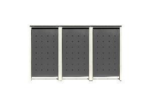 ii ii m lltonnenverkleidung m lltonnenboxen 120 240l 1er 5er. Black Bedroom Furniture Sets. Home Design Ideas