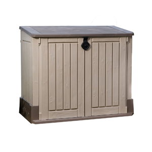mülltonnenbox 120l kunststoff