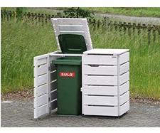 Mülltonnenbox 2er