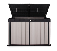 Mülltonnenbox Kunststoff für 3 Tonnen