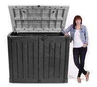 mülltonnenbox kunststoff von keter