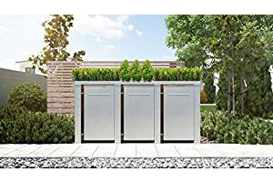 i i m lltonnenbox mit pflanzdach das beste modell f r. Black Bedroom Furniture Sets. Home Design Ideas